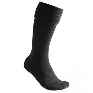 Woolpower Socks Knee-high 600 black Männer/Frauen