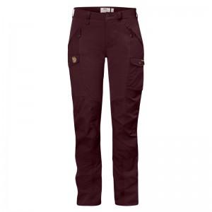 Fjällräven Nikka Curved Trousers dark garnet Größe 36