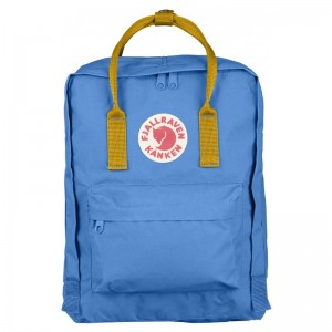 Fjällräven Kanken Un Blue / Warm Yellow 525-141