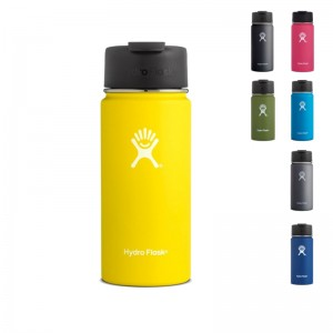 Hydro Flask Wide Mouth Flip Lid 473 ml Isobecher