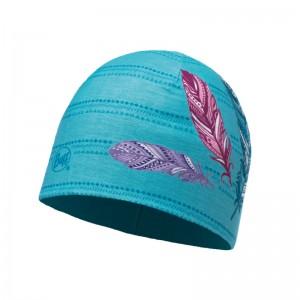 Buff Microfiber & Polar Hat Junior feathers pool