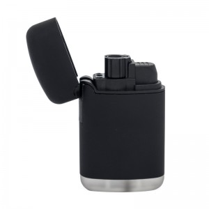 Feuerzeug Easy Torch 8 Rubber schwarz