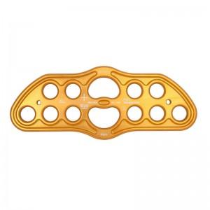 DMM Bat Plate Riggingplatte gold L