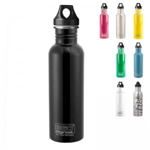 360 Degrees Edelstahl-Trinkflasche 750 ml mit Loop Cap