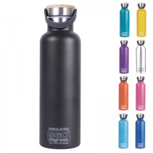 360 Degrees Vacuum Insulated 750 ml Isolierflasche