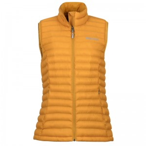 Marmot Solus Featherless Women Vest golden eye Größe M