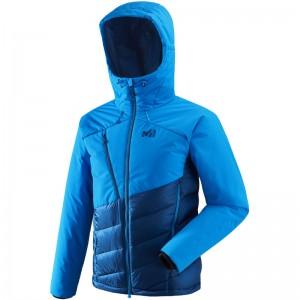 Millet Elevation Dual Down Jacket poseidon/electric blue Größe L