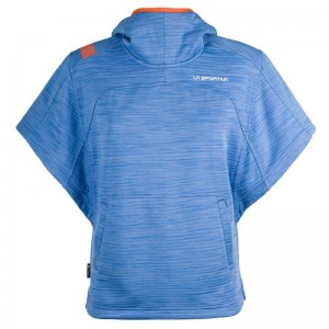 La Sportiva Punch-It Poncho Women cobalt blue Größe L
