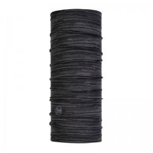 Buff Lightweight Merino Wool Slim Fit castlerock grey multi