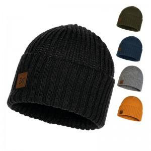 Buff Knitted Hat Mütze