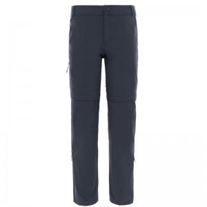The North Face Exploration Convertible Women Pant grey Größe 8 (S/M) short