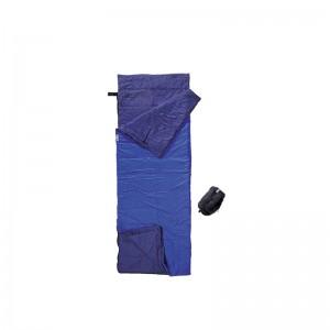 Cocoon Tropic Traveler Nylon Sommer und Tropenschlafsack Rechteck koppelbar royal blue/tuareg 220x80 cm