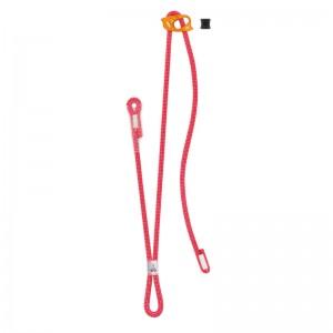 Petzl Dual Connect Adjust Doppeltes Verbindungsmittel rot