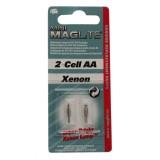 Maglite Micro und Mini Mag Ersatzbirnen 2 Stück