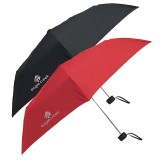 Eagle Creek Rainaway Travel Umbrella torch red & black