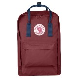 Fjällräven Kanken Laptop 17  Ox Red / Royal Blue