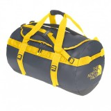 The North Face Base Camp Duffel asphalt grey/leopard yellow XL
