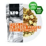 Lyo Food Schweinelende in grüner Pfeffersauce 500g