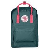 Fjällräven Kanken Laptop 15  Frost Green / Peach Pink 664-319