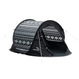 Easy Camp Zelt Antic Tribal Black & White