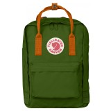 Fjällräven Kanken Laptop 13  Leaf Green / Burnt Orange 615-212