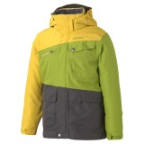 Marmot Boy's Space Walk Jacket green lichen/ yellow vapor S 128 (6-7 Jahre)