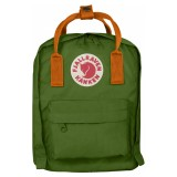 Fjällräven Kanken Kids Leaf Green / Burnt Orange 615-212