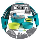 Sea To Summit X Set (X-Pot 2,8 Liter 2 X-Bowls 2 X-Mugs)