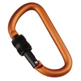 Munkees Karabiner D Screw Lock 6 mm x 60 mm