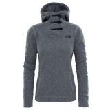 The North Face Crescent Women Hooded Pullover grey heather Größe M