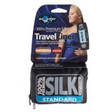 Sea To Summit Premium Silk Strech Liners Standard (Rectangular) blue