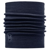 Buff Heavy Merino Wool Neckwarmer solid denim