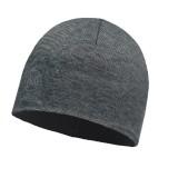 Buff Microfiber & Polar Hat grey stripes