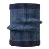 Buff Knitted Neckwarmer Comfort dee blue