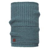 Buff Knitted Collar Gribling steel blue
