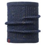 Buff Knitted & Polar Neckwarmer Comfort braidy moss green