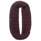 Buff Knitted Infinity dean wine