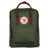 Fjällräven Kanken Forest Green / Ox Red 660-326
