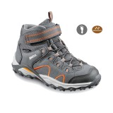 Meindl Lucca Junior Mid grau/orange Kinderschuh
