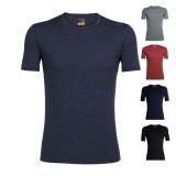 Icebreaker BF200 Oasis S/S Crewe T-Shirt Männer