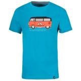 La Sportiva Van T-Shirt tropic blue Größe XL