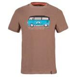 La Sportiva Van T-Shirt falcon brown Größe L
