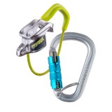 Edelrid Mega Jul Sport Belay Kit Steel triple icemint