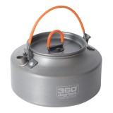 360 Degrees Furno 1 Liter Kettle Kessel grey