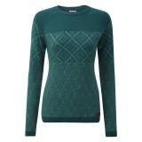Sherpa Amdo Women Crew Sweater rathna green M