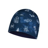 Buff Microfiber & Polar Hat Child funny camp navy