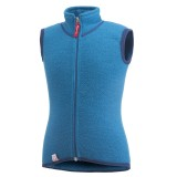 Woolpower Kids Vest 400 dolphin blue 134 - 140
