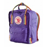 Fjällräven Kanken Mini Rainbow Purple-Rainbow Pattern 580-907