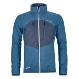 Ortovox Swisswool Dufour Jacket blue sea Größe L