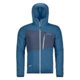 Ortovox Swisswool Zebru Jacket blue sea Größe L